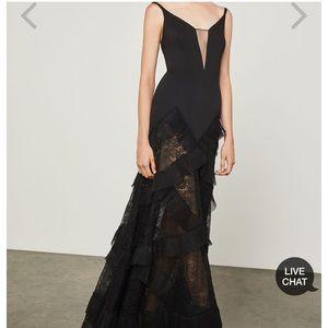 NWT BCBG Avaline Pleated Gown